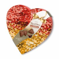 RUSSELL STOVER 5.65oz SEQUINED HEART