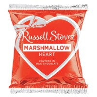 RUSSELL STOVER CANDY MARSHMALLOW HEART