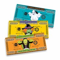 RUSSELL STOVER CANDY MONSTER MONEY BAR