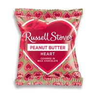 RUSSELL STOVER PEANUT BUTTER HEART