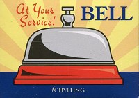 AT YOUR SERVICE METAL BELL