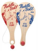 SCHYLLING CLASSIC PADDLE BALL GAME
