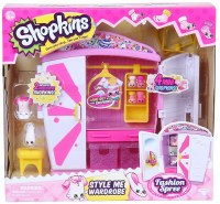 SHOPKINS STYLE ME WARDROBE FASHION SET