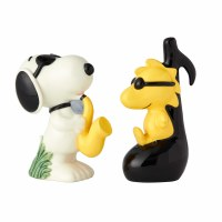 SNOOPY & WOODSTOCK SALT & PEPPER SET