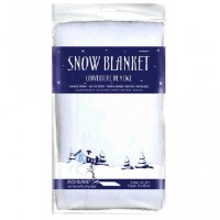 "SNOW BLANKET 32"" x 40"""