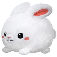 """SQUISHABLES 15"""" FLUFFY BUNNY"""
