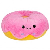 "SQUISHABLES 5"" SNACKERS PINK DONUT"