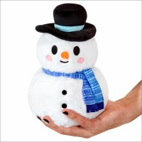 "SQUISHABLES 7"" CUTE SNOWMAN"