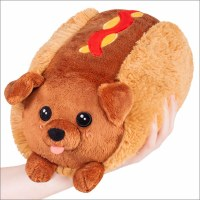 "SQUISHABLES 7"" DACHSHUND HOT DOG"