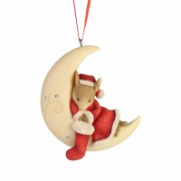 TAILS WITH HEART ORNAMENT MOONLIT NAP