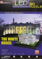 THE WHITE HOUSE LED 3D PUZZLE