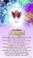 THOUGHTFUL ANGEL PIN AUTISM