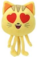 TY BEANIE BABIES CAT W/HEART EYES EMOJI