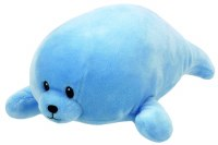 TY BABY BLUE SQUIRT SEAL MEDIUM