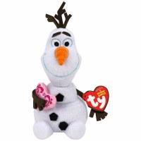 TY BEANIE BABY OLAF W/HEART