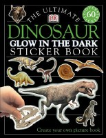 ULTIMATE STICKER BOOK GLOW DINOSAURS