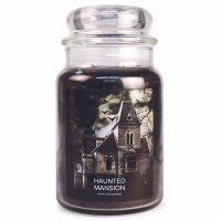 VILLAGE CANDLE LG DOME HAUNTED MANSION