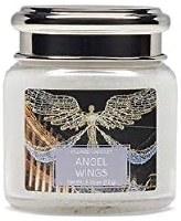 VILLAGE CANDLE PETITE JAR ANGEL WINGS