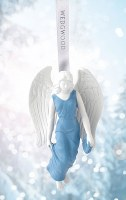 WEDGWOOD 2018 ORNAMENT ANGEL