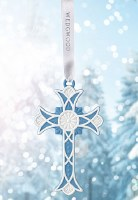WEDGWOOD 2018 ORNAMENT CROSS