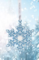 WEDGWOOD 2018 ORNAMENT SNOWFLAKE