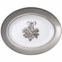 WEDGWOOD WINTER WHITE OVAL PLATTER