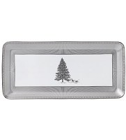 WEDGWOOD WINTER WHITE SANDWICH TRAY