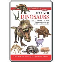 WONDERS OF LEARNING TIN DINOSAURS