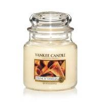 YANKEE MED CLASSIC JAR FRENCH VANILLA
