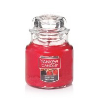 YANKEE SM CLASSIC JAR COZY BY THE FIRE