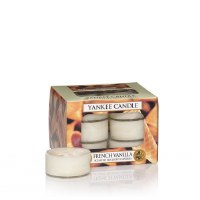 YANKEE TEA LIGHTS   12ct FRENCH VANILLA