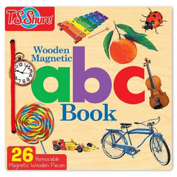 TS SHURE WOODEN MAGNETIC ABC BOOK