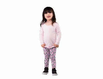 TWO LEFT FEET KID'S LEGGING PANDACORN MD
