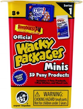 WACKY PACKAGES MINI SERIES 1