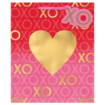 XOXO VALENTINE'S DAY LARGE GIFTBAG