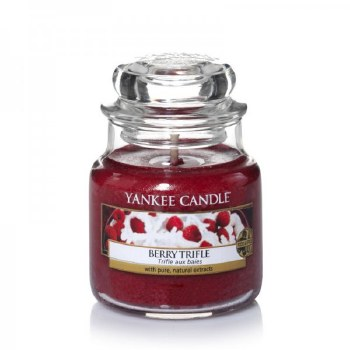 YANKEE SM CLASSIC JAR BERRY TRIFLE