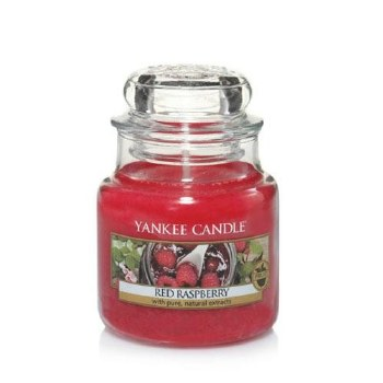 YANKEE SM CLASSIC JAR RED RASPBERRY