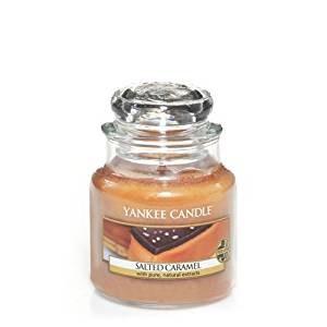 YANKEE SM CLASSIC JAR SALTED CARAMEL