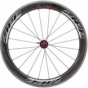 Zipp 404 Firecrest Carbon Clincher Rear Wheel Black 2012