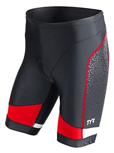 TYR Competitor 9 Tri Short Black/ Red