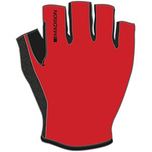 Madison Track Mitts Mens Red