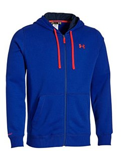 Under Armour CC Storm Rival Full Zip Blue