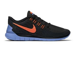 Nike Women's Free 5.0 Black/ Orange