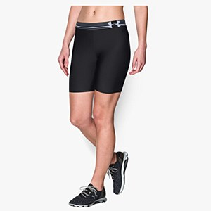 Under Armour Women's Heat Gear Long Black
