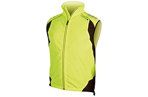 Endura Laser Gilet Yellow