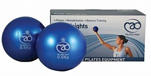 Fitness Mad Soft Weights for Pilates 0.5kg