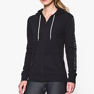 Under Armour Women's Rival Cotton Full Zip