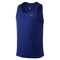Nike Dri-Fit Miler Singlet Royal Men's