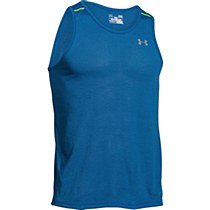 Under Armour Streaker Run Singlet Men's Blue