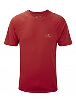 Ronhill Advance Motion Short Sleeve Crew Red